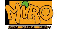 Miro  Restaurant  Bar Logo