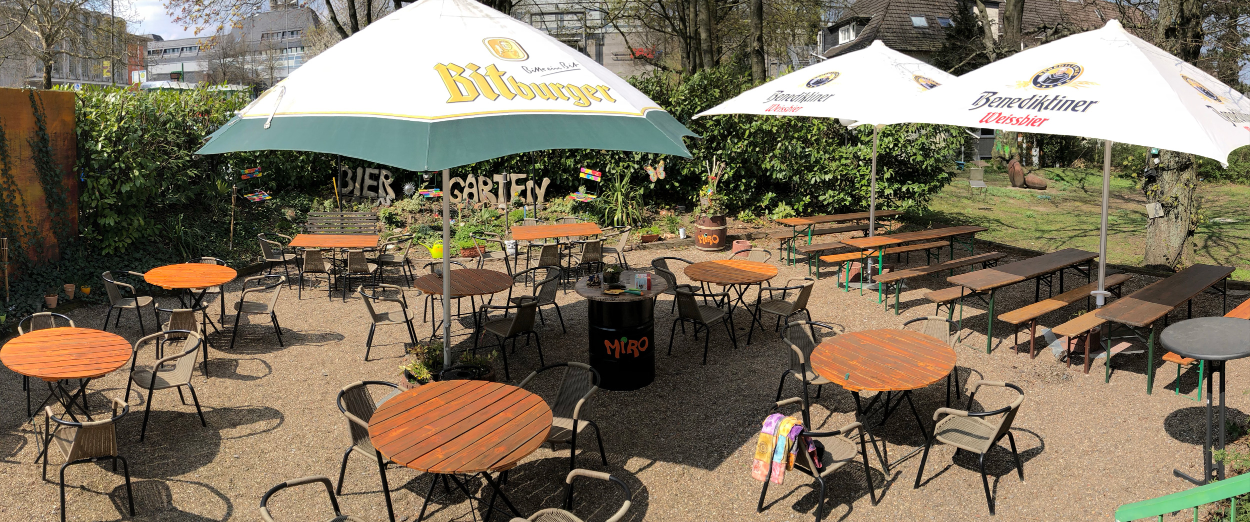 Der grünste Biergarten in Remscheid